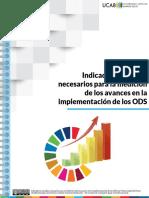 Indicadores sociales necesarios para la mediación de los avances en la implementación de los ODS
