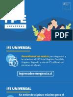 Presentación IFE UNIVERSAL