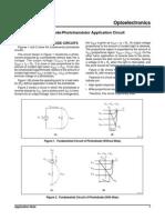 Photodiode/Phototransistor Application Circuit