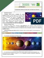 6º GEO Atividade 1 - Sistema Solar - Professor