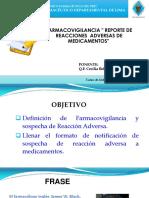 16-07 Q.F. CECILIA BELTRAN FARMACOVIGILANCIA- REPORTE DE RAM