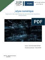 Tp Analyse Numérique