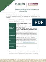 Normas para la Aplicación_Participante
