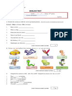 ENGLISH TEST Diagnostico 6