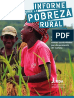 Libro Informe Pobreza Rural 2011 Fida