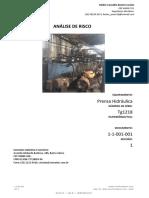 Prensa Hidráulica - Análise de Risco