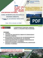 U I 2 A METODOS Y TECNICAS PARA UNA ZONIFICACIÓN  AMBIENTAL TERRITORIAL. 30_09_2020