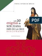 Javier Garcia Gonzalez - Los 20 enigmas de sor Juana Inés de la Cruz descifrados