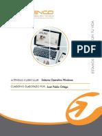 Cuaderno N°1 Sistemas Operativos Windows SIRE
