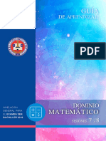 Guia Dom. Matematico 7-8 B Semana 4