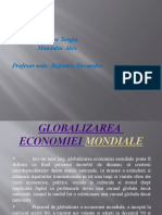 227345649 Globalizarea Economiei Mondiale Powerpoint