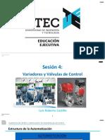 Sesión  - Automatización -  Actuadores (Teoría)