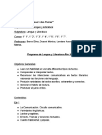 Programa de Lengua y Literatura-2