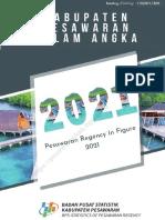 Kabupaten Pesawaran Dalam Angka 2021