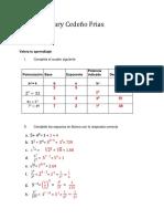 Practica 4 de potenciacion y radicacion