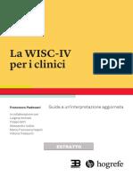 La Wisc-IV  per i clinici