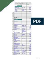 12 month Cashflow Plan 2006