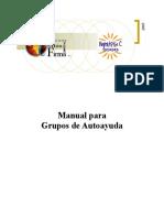 Manual Para Grupos de Autoayuda