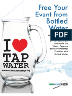 Free Your Event From Bottled Water