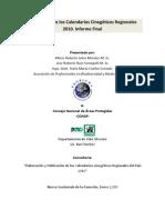Calendarios Cinegeticos Regionales Guatemala 2010-2011