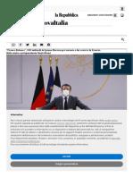 """""""France Relance"""", 100 miliardi del piano Macron pe"""