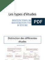 Les Types D_études