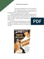 Os Maiores Filmes Americanos e Não Americanos