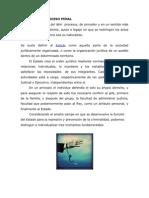 FUNCIÓN DEL PROCESO PENAL.
