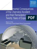 Environmental consequences of the chernobyl  accident