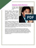 Biografía de Alejandro Toledo Manrique