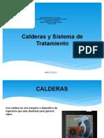 Calderas y Sistema de Tratamiento
