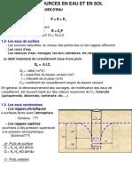 Sources en Eaux et Irrigation  (Formation Techniciens)1