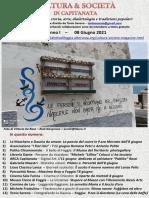 Cultura & Società in Capitanata N. 33 Del 08-06-2021