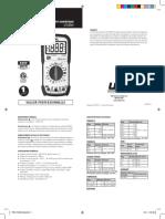 FRCA UTLDM1 Manual