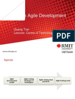 Testing in Agile Development