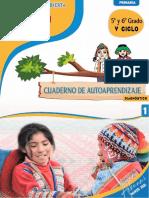 Cuaderno de Autoaprendizaje 1RURAL v CICLO
