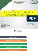 EVOLUTION DU SECTEUR BANCAIRE MAROCAIN