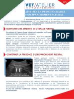 Fiche Synthese Agria Vetatelier 1 Epanchement Pleural Dr Celine Pouzot Nevoret