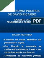 La Economia Politica de David Ricardo