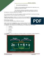 Ecuación de primer grado y problemas