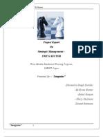 FMCG report - SM