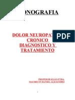 MONOGRAFIA  DOLOR CRONICO Prof.Maubecin Daniel Alejandro