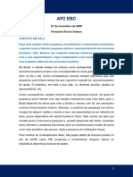 AP2 EBC - Fernando Rocha Urbano