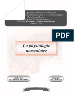 3 la physiologie musculaire