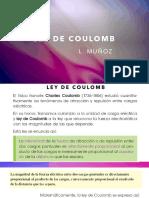 LEY DE COULOMB SEMANA 2 PRESENTACION