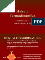 HUKUM TERMODINAMIKA