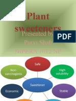 Plant sweeteners