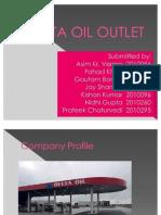 Delta Oil Outlet Questionaire design