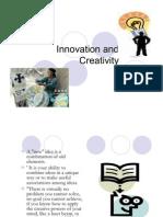 innovation and creativity