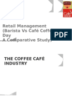 Barista Vs Café Coffee Day